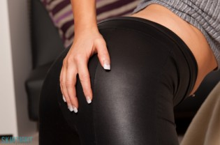 Emma B Black Leggings